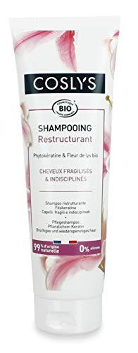 Coslys Champú de queratina para cabellos frágiles e indisciplinados 250 ml