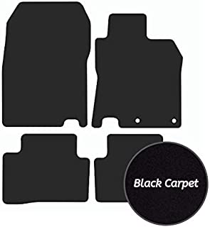 PURPLE TRIM Rmsone GENUINE FULLY TAILORED BLACK CARPET CAR MATS JUKE 2010