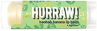 Hurraw Baobab Banana Lip Balm, 4.3 grams