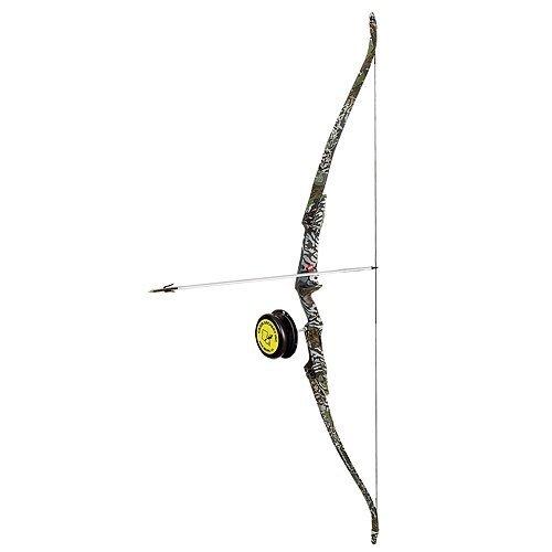 PSE Kingfisher Right Hand Bowfishing Kit, 40-Pound, Camo