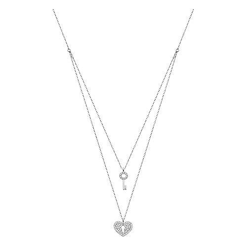 LOTUS Silver Collar con colgante de corazón LP1680-1/1, circonita 925, plata JLP1680-1-1