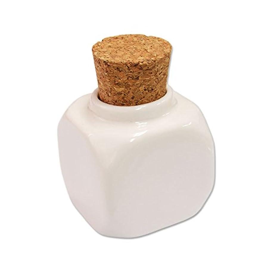 バケット検査官フルートコルクキャップ 陶器製ダッペンディッシュ(コルクダッペン)