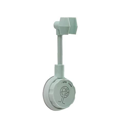 NIDONE Soporte de la Cabeza de Ducha Sin Ajuste de perforación Ducha Soporte Soporte Giratorio Panger Baño Soporte Verde