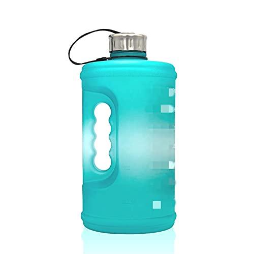 QWEP 3.78. L 2,2 L. Bottiglia di Acqua Passaggio Palestra Gli Palestra Grande capacità Outdoorcup Bottiglia d'Acqua Sport Sport all'aperto Bevanda Brocca (Capacity : 2.2l 73oz, Color : Green1)