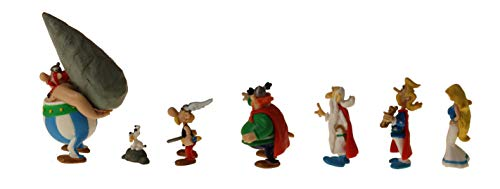 Plastoy -Asterix-Village Tube 7 Figurines 4