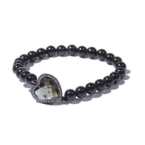 Bracelets For Womens Bracelet Black Obsidian Beads Fashion Style Gift For Ts Men & Women Accessories Gifts Black