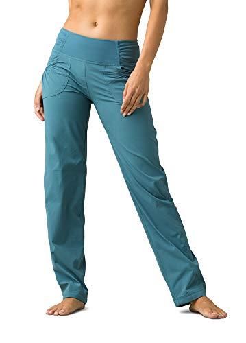 Prana Summit Damen-Hose, Normale Innennaht, Mirage Blue, XS
