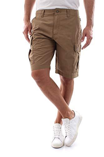 Napapijri Herren NOTO 3 Shorts, Braun (Kangaroo Brown W051), W(Herstellergröße:34)