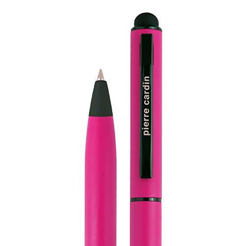 PIERRE CARDIN edler Kugelschreiber hochwertig in der Schreibfarbe blau mit Touch-Pen Funktion. Der Pen wird in einer Geschenkverpackung mit Echtheitszertifikat geliefert. CelebrationKS (rosa)