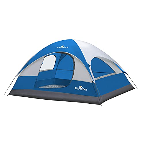 SUNDOOR Lightweight Tent, 2 Person Camping Tent for Family/Solo/Couple,...