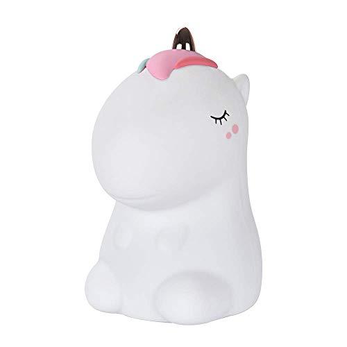 Luce notturna unicorno per bambini,Baby Nursery Night Baby Night USB Ricaricabile Regali cambia colore per bambini Neonate Ragazzi