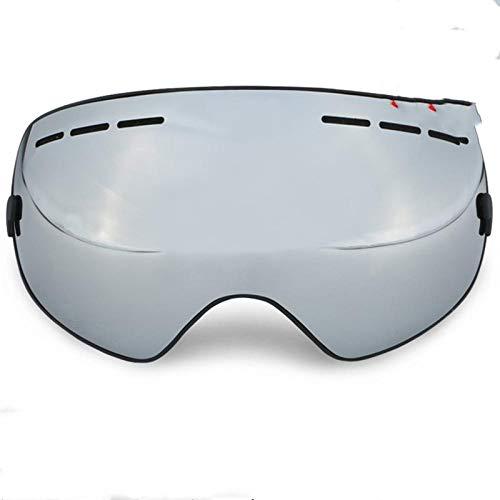 Skibrille Für Brillenträgerskibrillen Große Kugelförmige Rahmenlose Brillen Können Rezepte, Schaugläser, Doppelschichtige Anti-Fog-Skibrillen Für Herren Und Damen Tragen