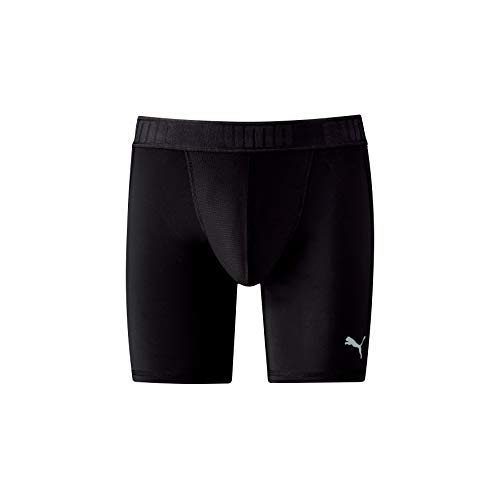 PUMA Herren Active Long Boxer 1P Packed Unterwäsche, Black, M