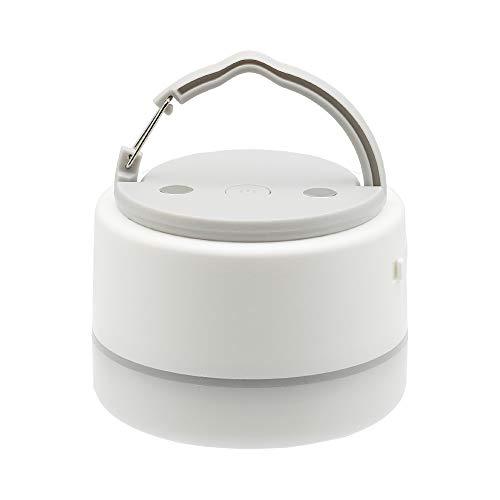 MOTTERU (モッテル) LEDランタン モバイルバッテリー USB充電式 6,700mAh 防水 防塵 IP65 9パターンの色モード マグネット PSE認証済 日本メーカー 2年保証 エアリーホワイト MOT-MBLED6701-WH