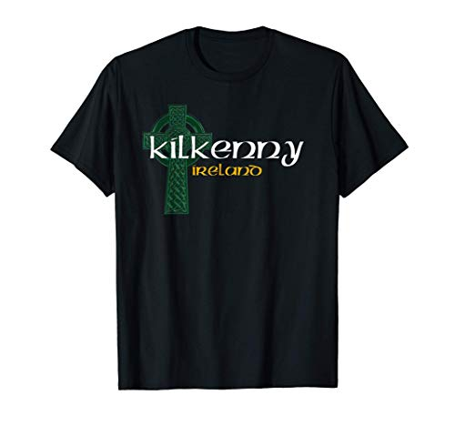 Kilkenny Ireland County Celtic Gaelic Football and Hurling T-Shirt