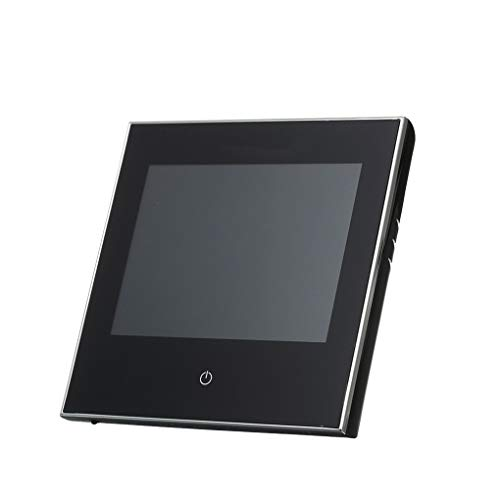 Mingtongli Pantalla LCD Termostato Calentador del regulador de Temperatura, Caldera Calentamiento, Negro
