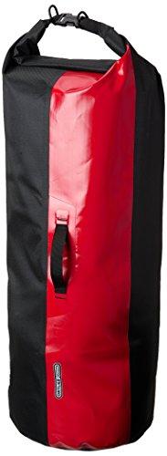 Ortlieb Packsack Dry Bag PS 490 Sack, Schwarz/Rot, 70 x 31 x 31 cm, 59 Liter