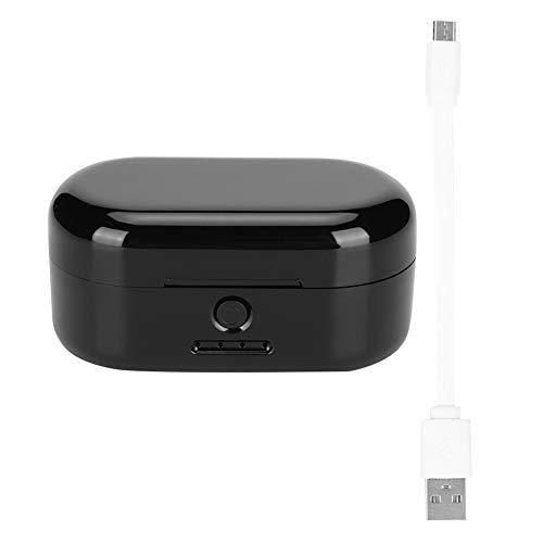 Auriculares Bluetooth Auriculares inalámbricos Bluetooth 5.0 Auriculares deportivos IPX5 a prueba de agua(Negro)