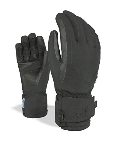 Level – Guantes para Mujer I de Super Radiator W Gore-Tex, Black, 7, 3233 WG