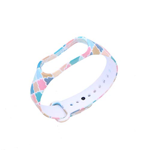 UKCOCO Protective Chic Ersatz Cool Ersatz Silikon Wriststrap Wrist Strap Wristlet für Miband 3 Xiaomi 3 Smart Bracelet
