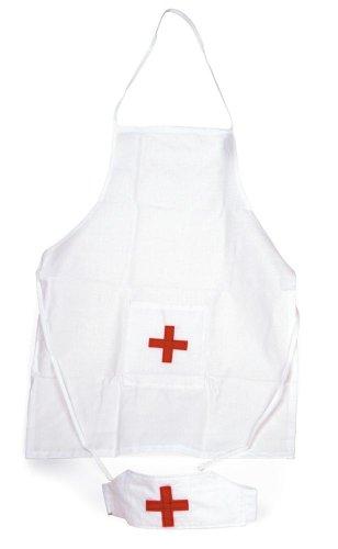 Egmont Toys-Krankenschwester-Schürze und -Mütze/Hut