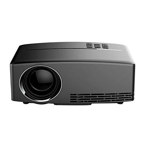 AN Proyector HD, Proyector Portátil para El Hogar Chip De TV LCD...