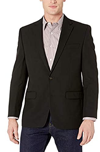 Chaps Men's All American Classic Fit Suit Separate Blazer , Charcoal, 46 Long