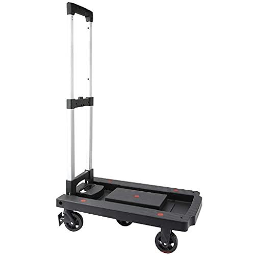 Z-SEAT Gebrauchswagen Haushalts-Einkaufswagen mit 3 Universalrädern, Klapp- und Hochleistungs-Nutzfahrzeug für den Außenbereich, multifunktionaler und platzsparender Handwa