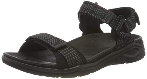ECCO Herren X-trinsic Flat Sandal Knöchelriemen, Black, 43 EU