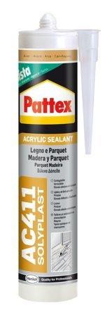 Pattex Silicone Acrylique pour bois et Parquet 'Pattex AC411'