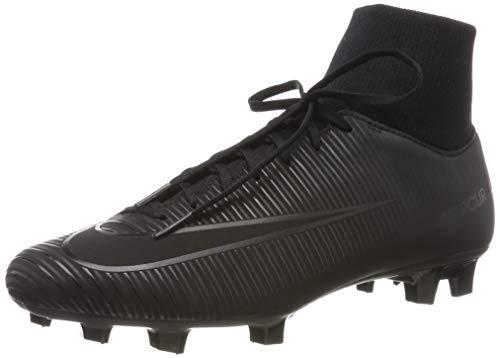 Nike Mercurial Victory VI DF Fg, Scarpe da Calcio Uomo, Nero (Black/Black 001), 42 EU