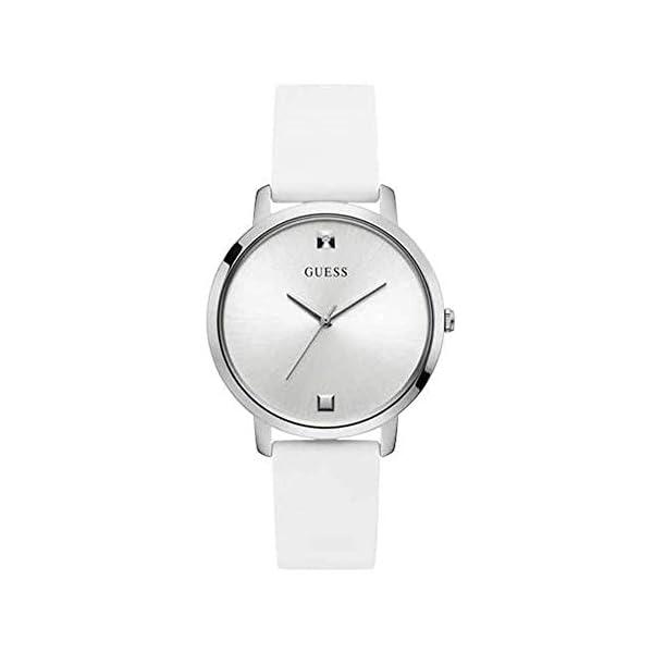 GUESS Reloj Analógico para Mujer de Cuarzo con Correa en Silicone W1210L1