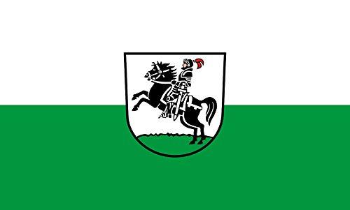 Unbekannt magFlags Tisch-Fahne/Tisch-Flagge: Oberstenfeld 15x25cm inkl. Tisch-Ständer