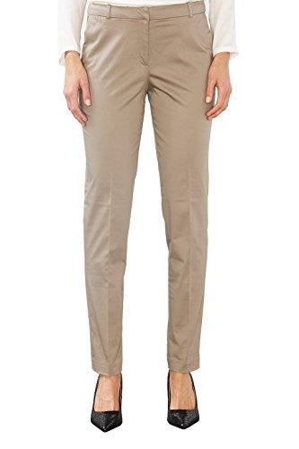 ESPRIT Collection Damen 997EO1B800 Hose, Braun (Taupe 240), W27/L32 (Herstellergröße: 36)