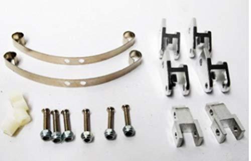 ACHICOO Modellauto-Zubehör, Metall-Stoßdämpferstreifen für RC 1/16 Kletter-Raupenwagen GZA Truck Ideales Zubehör