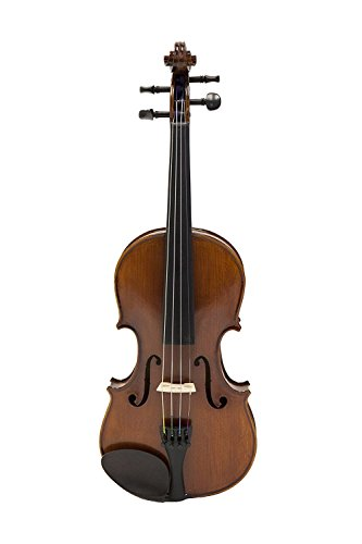 Full Size 4/4 Handmade Stradivari Copy German Style Violin Fiddle Case Bow Set