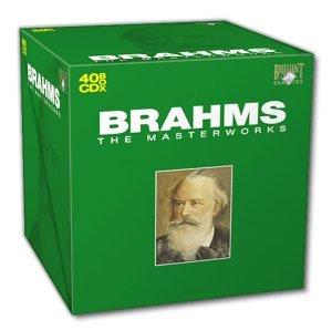 Les chef d'oeuvres de Brahms en 40 CD