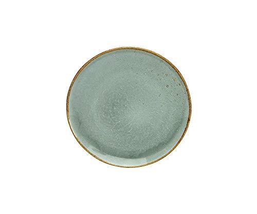 Creatable 22047 Stone - Juego de 6 platos de postre (21 cm), diseño de gres
