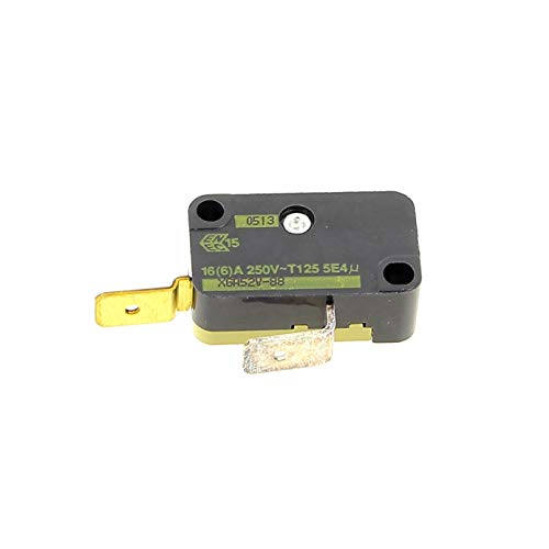 Microswitch 2 cosses pour Friteuse Moulinex, Friteuse Seb, Friteuse Tefal, Cafetiere Delonghi, Micro-ondes Delonghi, Barbecue Delonghi