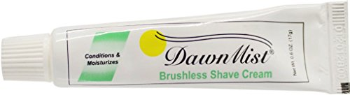 For Sale! Dawn Mist Brushless Shave Cream, 0.6 oz. Tube - Case Pack 12 SKU-PAS789037