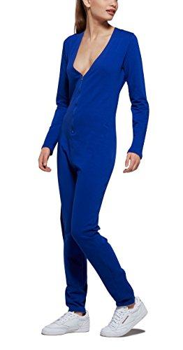 OnePiece Damen Jumpsuit Spirit, Blau (Blue), 40 (Herstellergröße: L) - 3