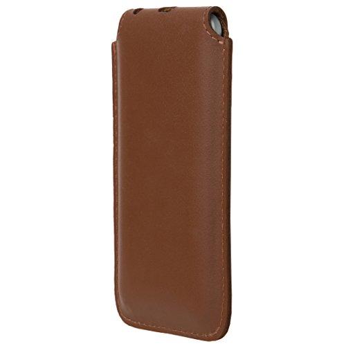 Ultratec Custodia in Pelle per iPhone 6 / 6S, Marrone