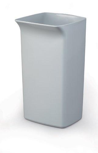 Durable 1800798050 Poubelle Durabin Square 40 litres, gris