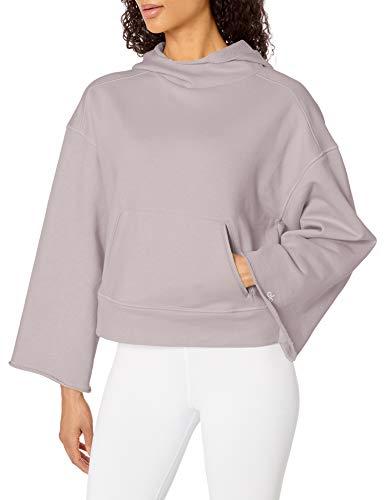 Alo Yoga Women's Low Key Hoodie, Lavender Cloud, Medium