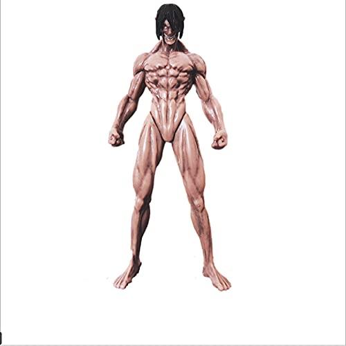 Figura De Anime Attack On Titan, Articulaciones Móviles, Figura De Acción De Eren Jaeger, Figura De Eren Yeager, Modelo De Muñeca Coleccionable, Juguetes De 17Cm