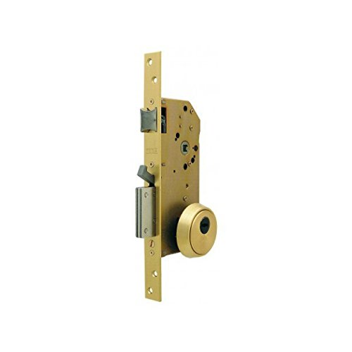 Tesa Assa Abloy, R200NT66T, Cerradura Monopunto de Seguridad para Puertas de Madera
