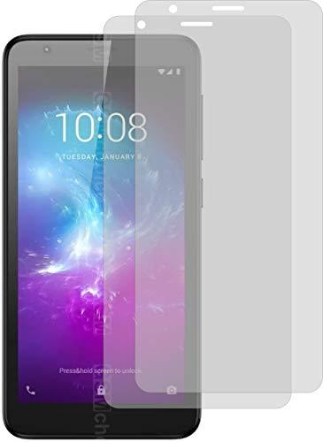 2X Crystal Clear klar Schutzfolie für ZTE Blade L8 Bildschirmschutzfolie Displayschutzfolie Schutzhülle Bildschirmschutz Bildschirmfolie Folie