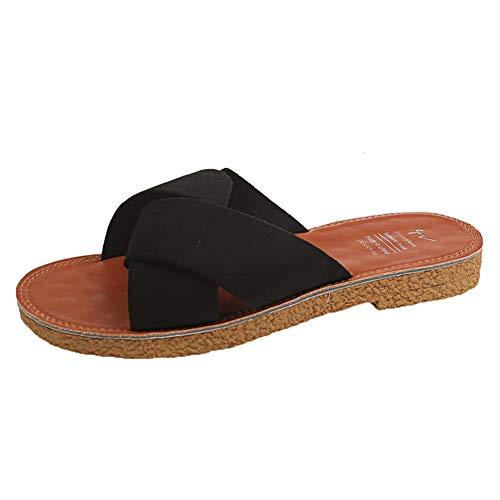 [RASTAR] レディース春夏サンダル かわいい 独特なデザイン シューズ 夏 レディース ローヒール 滑りにくい 歩きやすい 脱ぎやすい 履きやすい 美脚 安定感 オシャレ 旅行 海