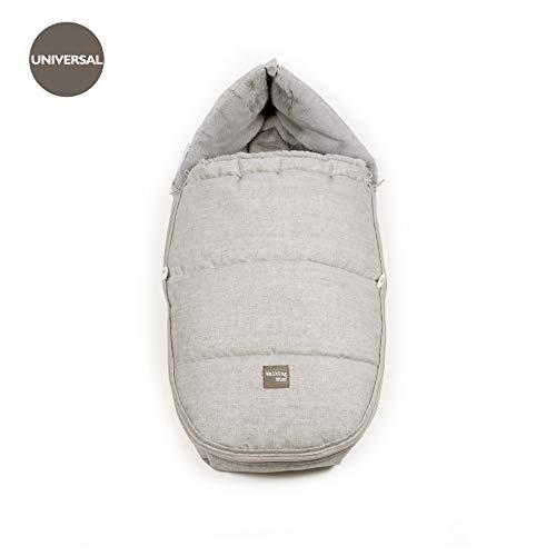 Walking Mum Furs - Saco grupo 0, unisex, color gris