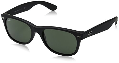 Ray Ban RB2132 New Wayfarer Color Mix Lunettes de soleil M, black rubber